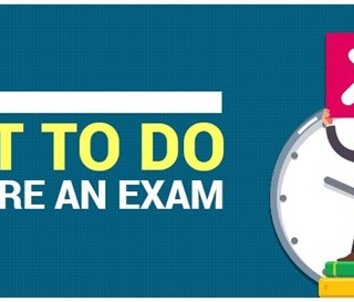Things Not To Do Before An Exam